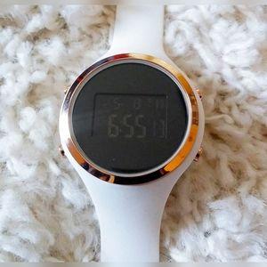 Accessories - SALE!  Women's Digital Dark Screen Silicone Watch